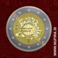 2012 Malta 2 EUR (10 let)