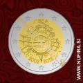 2012 Belgija 2 EUR (10 let)