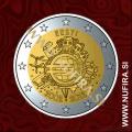 2012 Estonija 2 EUR (10 let)