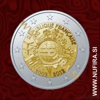 2012 Francija 2 EUR (10 let)