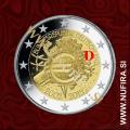 2012 Nemčija 2 EUR 10 let - D