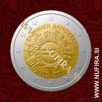 2012 Grčija 2 EUR (10 let)