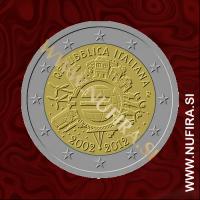 2012 Italija 2 EUR (10 let)