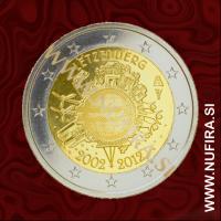 2012 Luksemburg 2 EUR (10 let)
