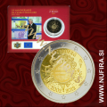 2012 Luksemburg 2 EUR (10 let), kartica
