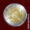 2012 Nizozemska 2 EUR (10 let)