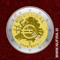 2012 Portugalska 2 EUR 10 let