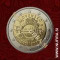 2012 Slovaška 2 EUR (10 let)