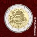 2012 Slovenija 2 EUR (10 let)
