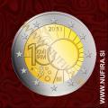 2013 Belgija 2 EUR (Kraljevi meteorološki inštitut)