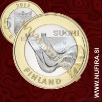 2013 Finska 5 EUR (Karelia)