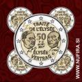2013 Nemčija 2 EUR (Elysée) - ADFGJ