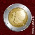 2013 Nizozemska 2 EUR (Dvojni portret)