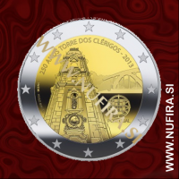 2013 Portugalska 2 EUR (Clerigos Tower)