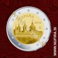 2013 Španija 2 EUR (El Escorial)