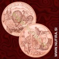 2014 Avstrija 10 EUR (Tyrol)