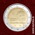 2014 Belgija 2 EUR (1. svetovna vojna)