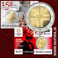 2014 Belgija 2 EUR (Rdeči križ) - Kartica