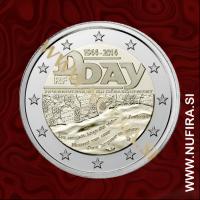 2014 Francija 2 EUR (D-Day)