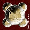 2014 Nemčija 2 EUR (Niedersachsen) - ADFGJ