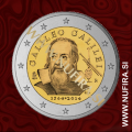 2014 Italija 2 EUR (Galileo Galilei)