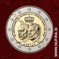 2014 Luksemburg 2 EUR (Pristop k prestolu)