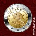 2014 Malta 2 EUR (Policija)