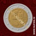 2014 Slovaška 2 EUR (Vstop v EU)