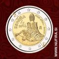 2014 Španija 2 EUR (Antoni Gaudí)