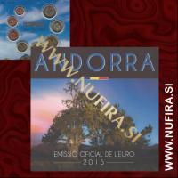 2015 Andorra BU SET (1c - 2 EUR)
