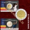 2015 Belgija 2 EUR (Evropsko leto razvoja) - Kartica