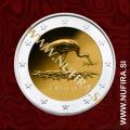 2015 Latvija 2 EUR (Črna štorklja)
