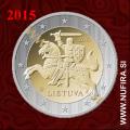 2015 Litva 2 EUR - normalni