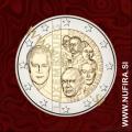 2015 Luksemburg 2 EUR (Nassau-Weilburg Dynasty)