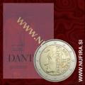 2015 San Marino 2 EUR (Dante Alighieri)