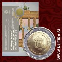 2015 San Marino 2 EUR (25. let združene Nemčije)
