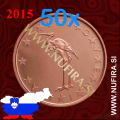 2015 Slovenija 1 CENT, rola