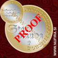 2015 Slovenija 3 EUR (Prvo tiskano besedilo), PROOF