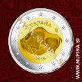 2015 Španija 2 EUR (Altamira)