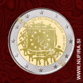 2015 Belgija 2 EUR (EU zastava)