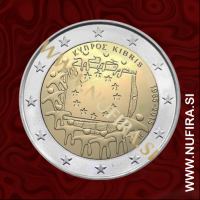 2015 Ciper 2 EUR (EU zastava)