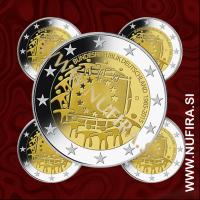 2015 Nemčija 2 EUR (EU zastava) - ADFGJ