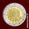 2015 Grčija 2 EUR (EU zastava)