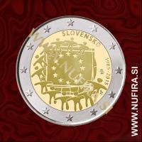 2015 Slovaška 2 EUR (EU zastava)