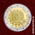2015 Španija 2 EUR (EU zastava)