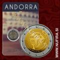 2016 Andorra 2 EUR (Radio in Televizija)