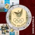 2016 Belgija 2 EUR (Rio 2016) - Kartica