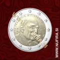2016 Francija 2 EUR (Francois Mitterrand)