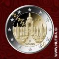 2016 Nemčija 2 EUR (Sachsen)