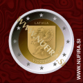 2016 Latvija 2 EUR (Vidzeme)